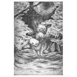 Carte postale Cochon et Fermier 1